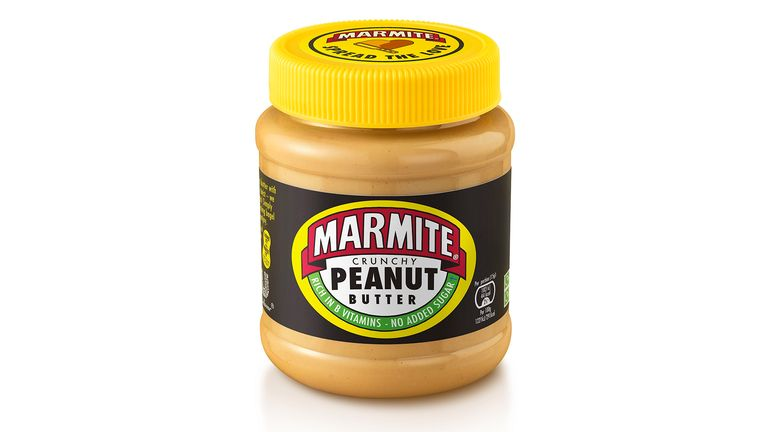 Marmite Peanut Butter will be available online from Monday, and in shops next month