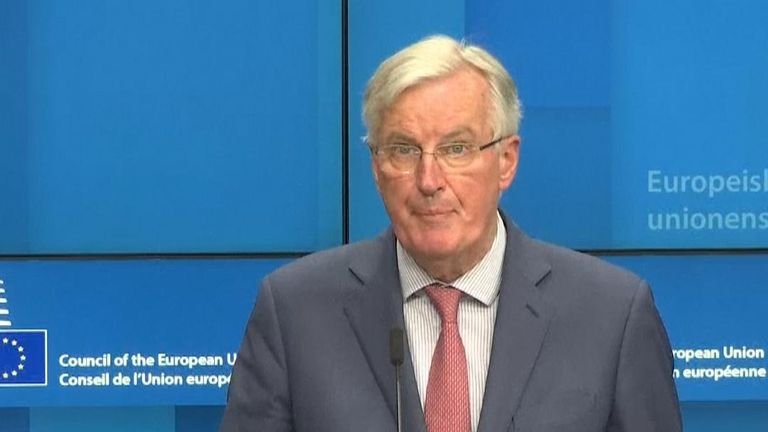 Michel Barnier says the EU will need a concrete plan from the UK