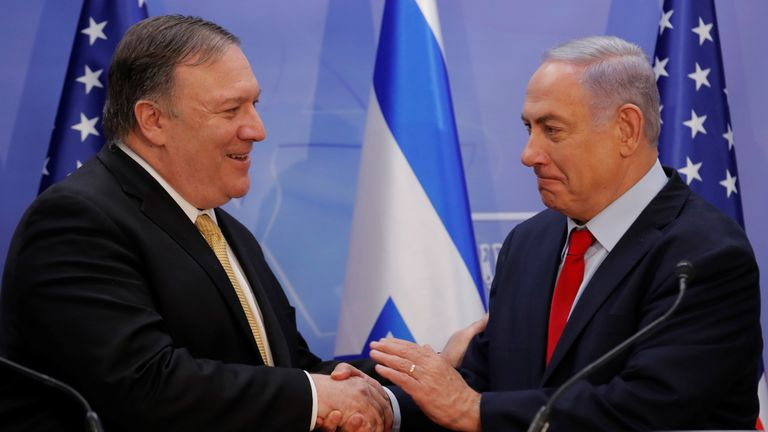 'Time to recognise' Israel sovereignty over Golan Heights, Trump says