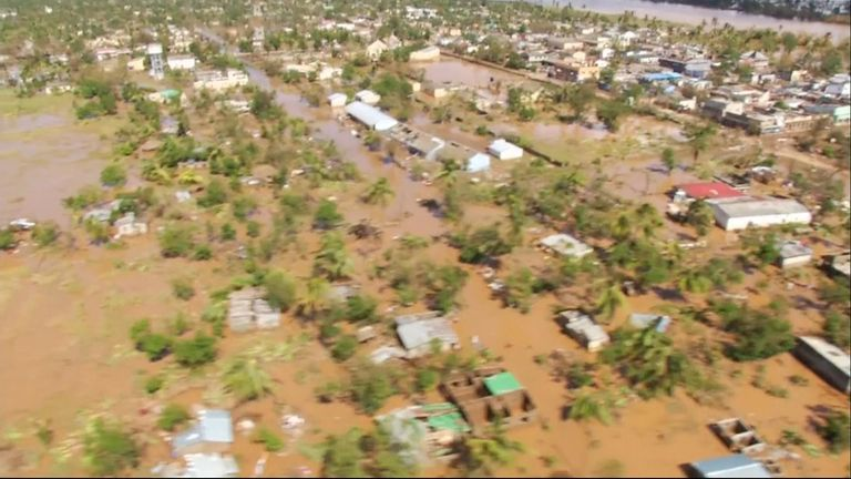 More than 200 people have died in Mozambique