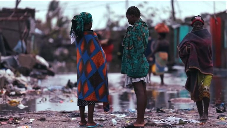 Cyclone Idai has torn across Mozambique, Zimbabwe and Malawi