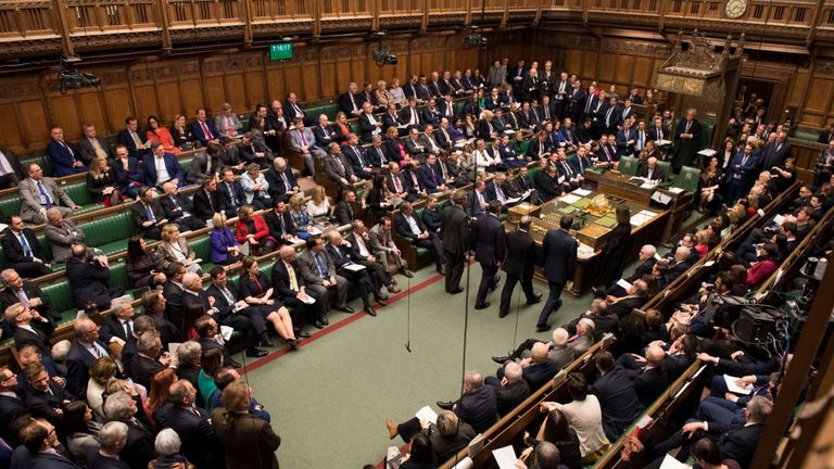 MPs debating Brexit. Pic: UK Parliament/Mark Duffy