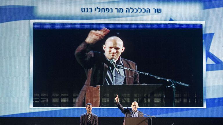 Naftali Bennett sees himself as a future defence minister