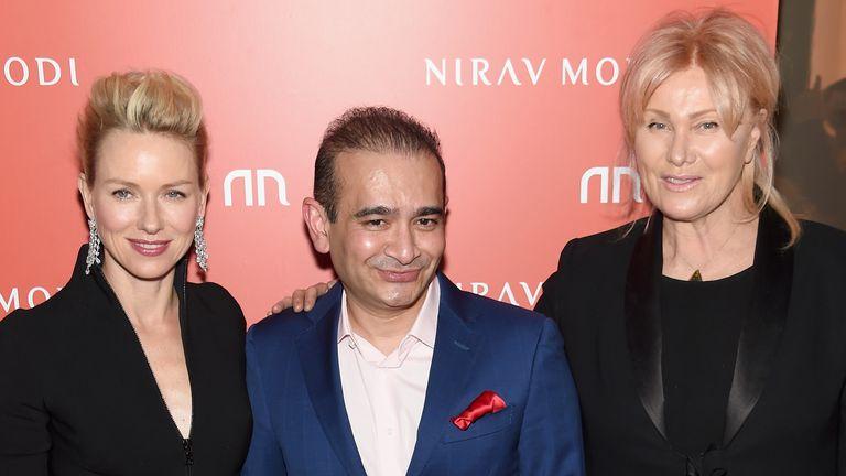 Naomi Watts, Nirav Modi and Deborra-Lee Furness attend the Nirav Modi U.S. Boutique grand opening