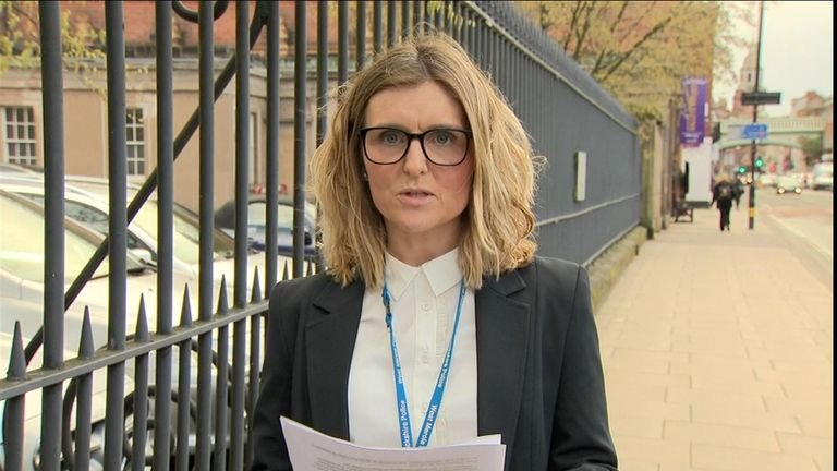 Detective Sergeant Natalie Martin read out a statement prepared by the boy's mother