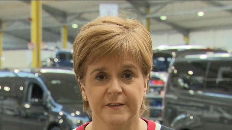 Nicola Sturgeon berates 'utterly unforgivable' performance of government during Brexit negotiations