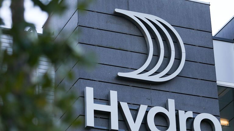 Aluminium producer Norsk Hydro hit by cyber attack