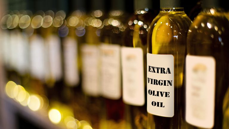 Discerning between real and fake olive oil is often a challenge. File pic