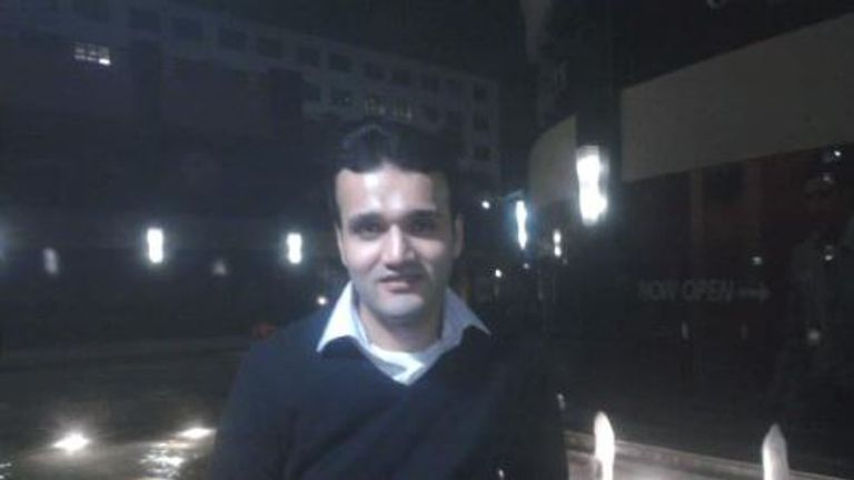 The colleague of Osama Adnan confirmed he is missing. Pic: @MohammadNour