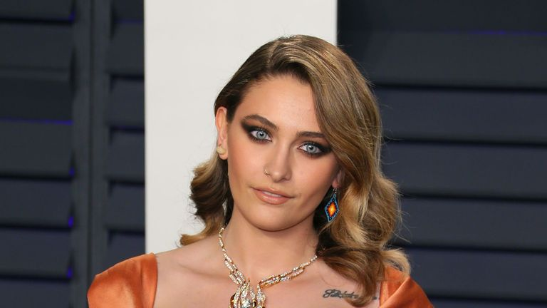 Paris Jackson has denied reports she attempted suicide