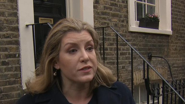 Penny Mordaunt is backing Theresa May's 'last ditch' Brexit deal and urging others to do so