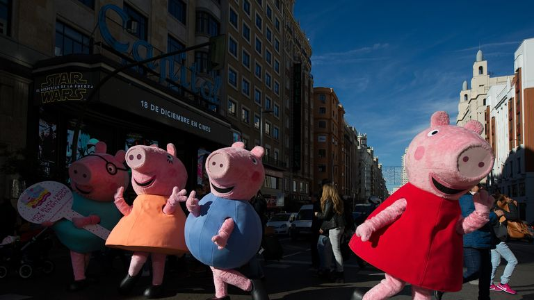 Language in a Peppa Pig episode was criticised as sexist by the London Fire Brigade