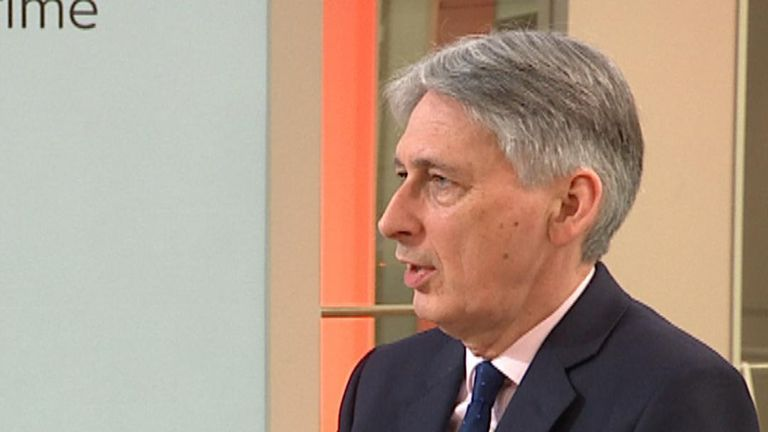 Philip Hammond doesn't think the prime minister should be replaced
