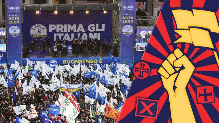 Italy's League are riding high in the polls