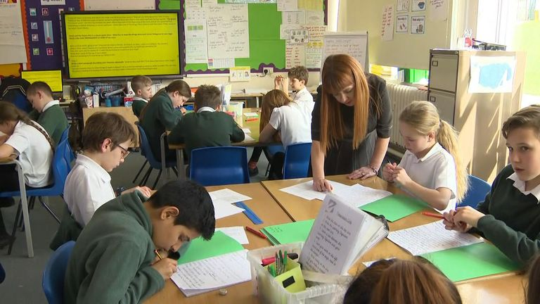 The survey found that both pupils and teachers find the tests stressful