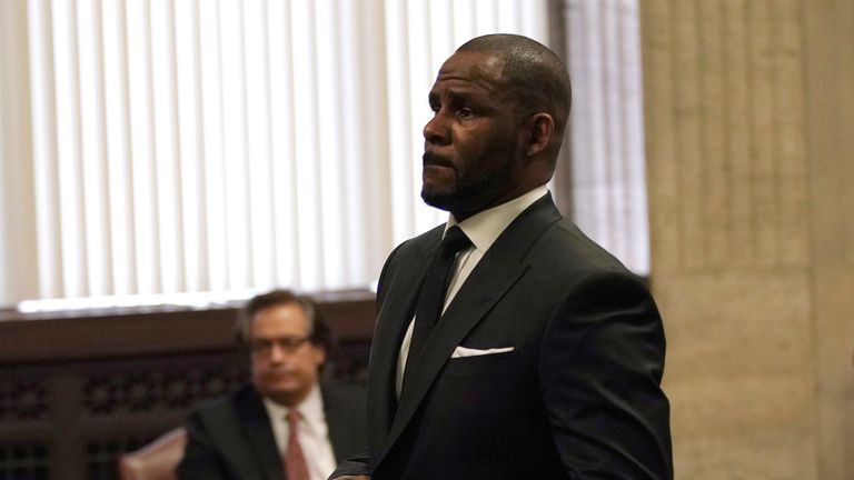 Singer R Kelly appears in court in Chicago