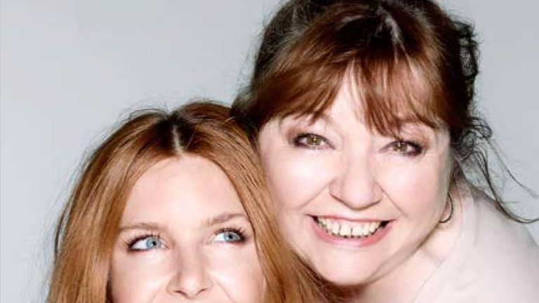 TV presenter Stacey Dooley and her mum were like a 'double act'. Pic: Rankin