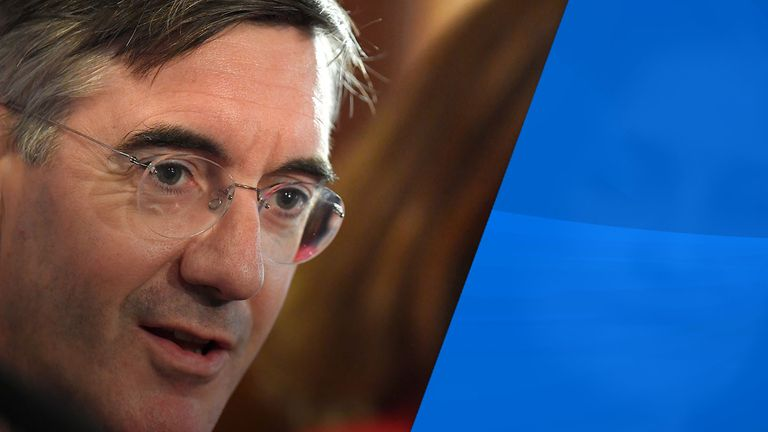 Jacob Rees-Mogg is one of the hardline Brexiteers Mrs May has sought to appease