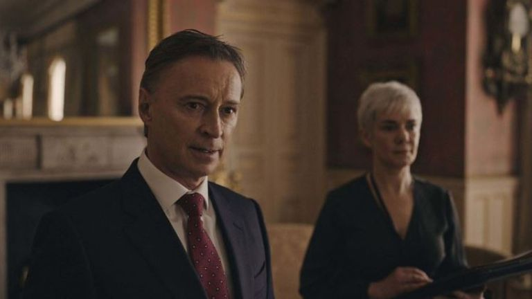 Robert Carlyle will star a British PM in new Sky drama COBRA. Pic: Sky One/ Now TV