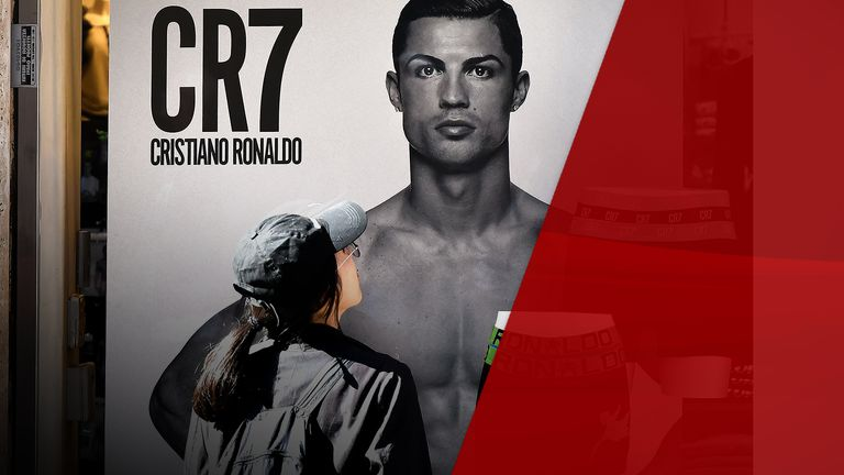 Ronaldo's underwear line