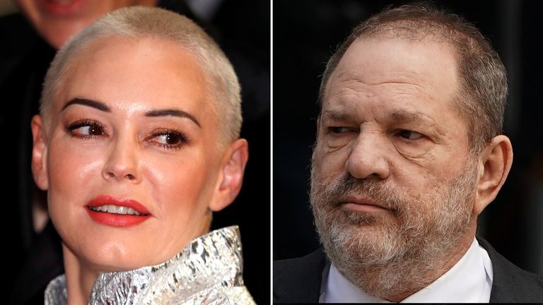 Rose McGowan is one of Harvey Weinstein's most vocal accusers