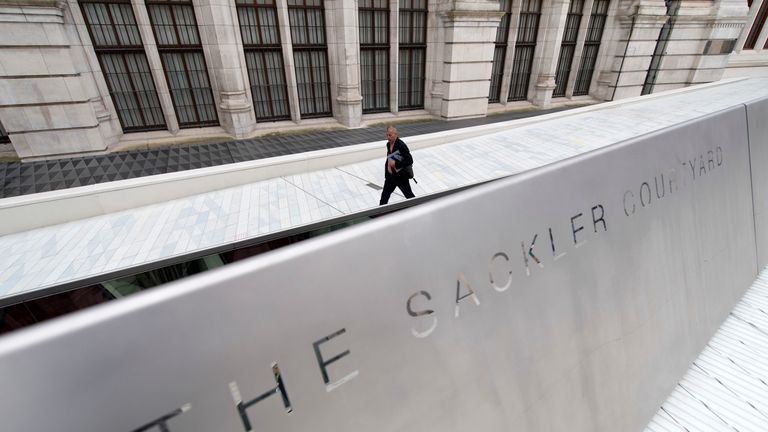 The Sackler family have made more than £60m worth of donations to UK institutions since 2010