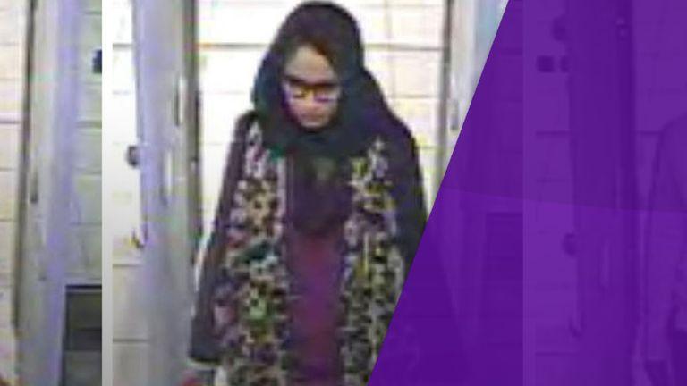 Islamic State bride Shamima Begum