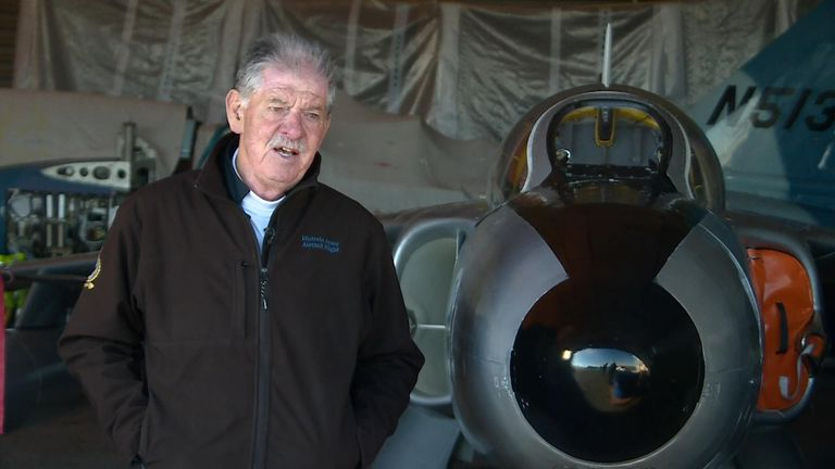 George Bacon from the British Air Display Association said Andy Hill is talented and bright