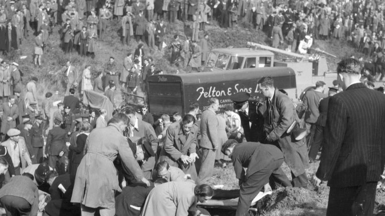 It was the biggest disaster at an air show since Farnborough in 1952 when 31 people died