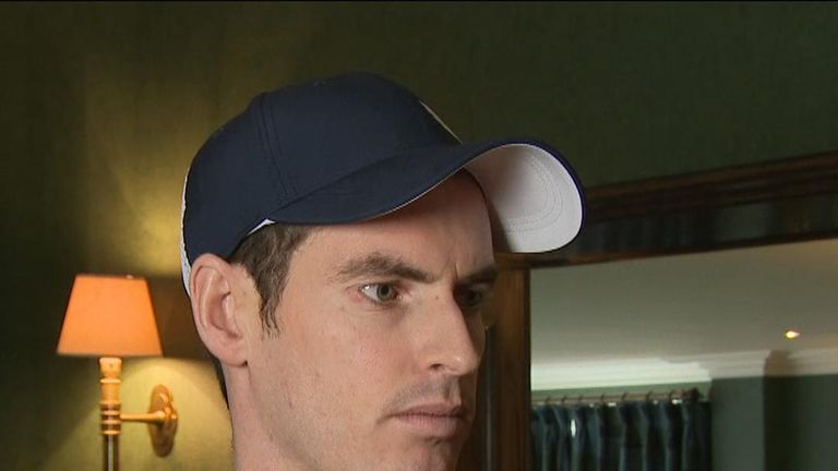 Sir Andy Murray discusses his recovery from a serious hip operation and his plans to return to tennis