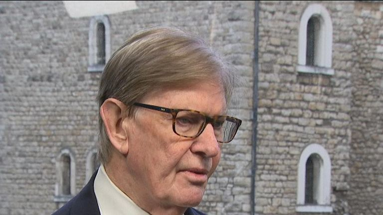 Eurosceptic Sir Bill Cash wonders how much longer Theresa May can remain as PM after latest Brexit defeat in the Commons