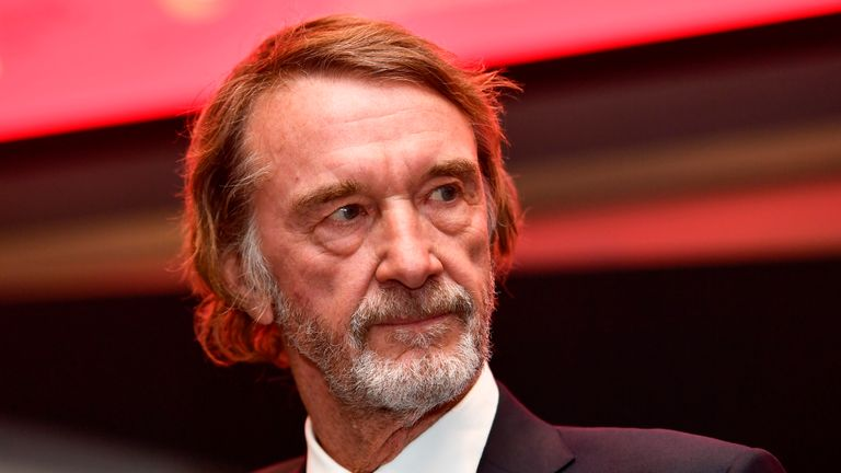 Chemicals tycoon Sir Jim Ratcliffe, reportedly Britain's richest man, is worth £21bn