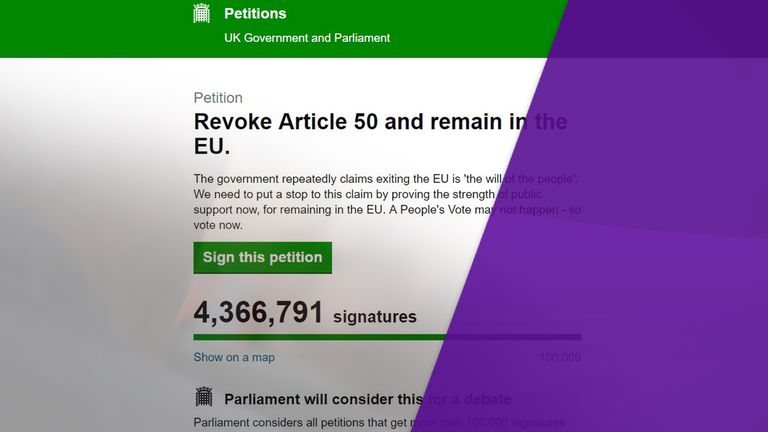 The petition has been signed by people from around the world, sparking cynicism about how genuine they are