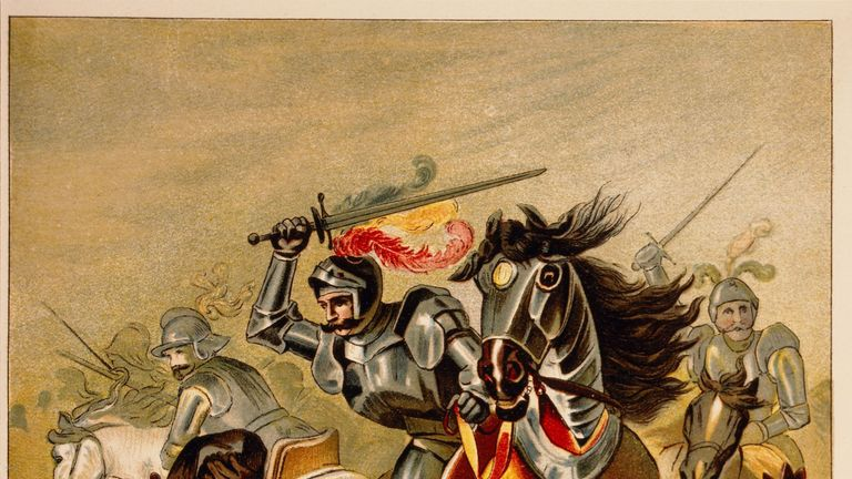 A Spanish Conquistador in battle in Tlascalan Territory, Mexico, 1519