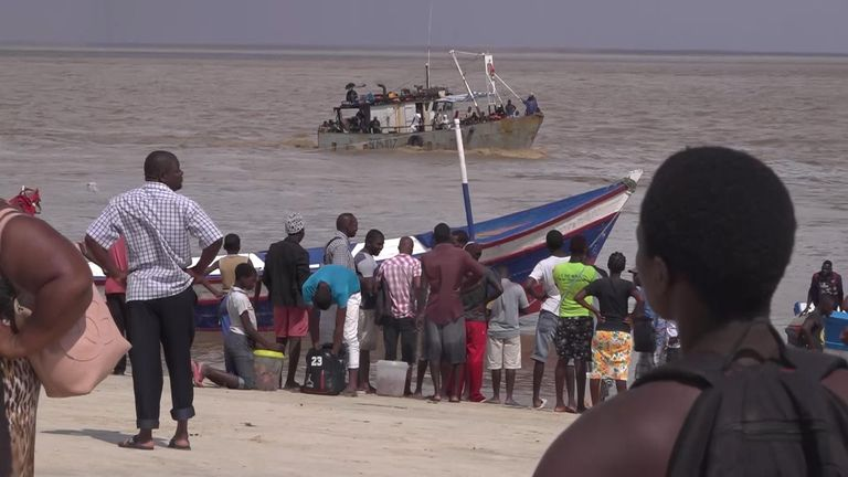 No aid, no government - just a rusty boat to flee Cyclone Idai carnage