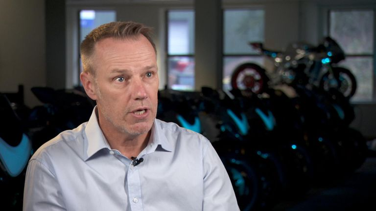 Norton motorbikes chief executive Stuart Garner