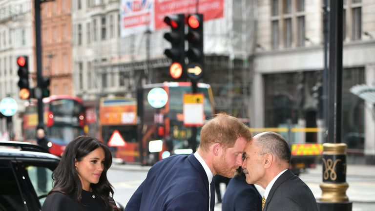 The Duke and Duchess of Sussex signed a book of condolence at New Zealand house
