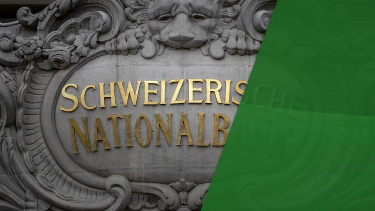 Swiss National Bank announced it was keeping its main policy rate at -0.75%, where it has languished since the beginning of 2015
