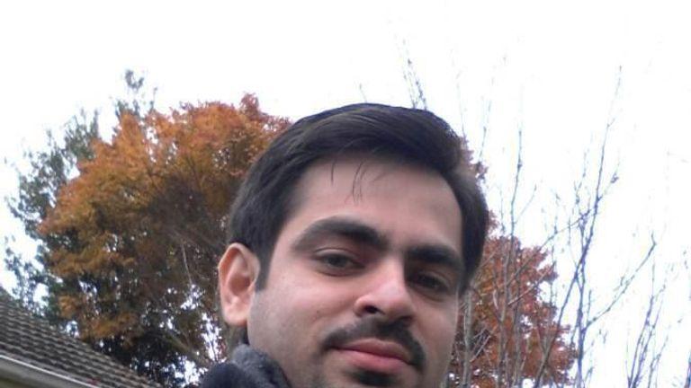 Syed Jahandad Ali. Pic: Facebook