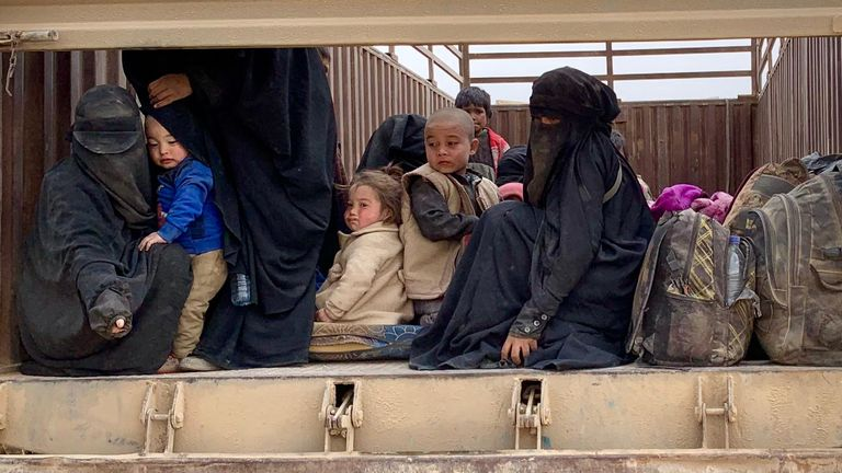 Families are still pouring out of Baghouz after escaping the fighting in Raqqa and Mosul
