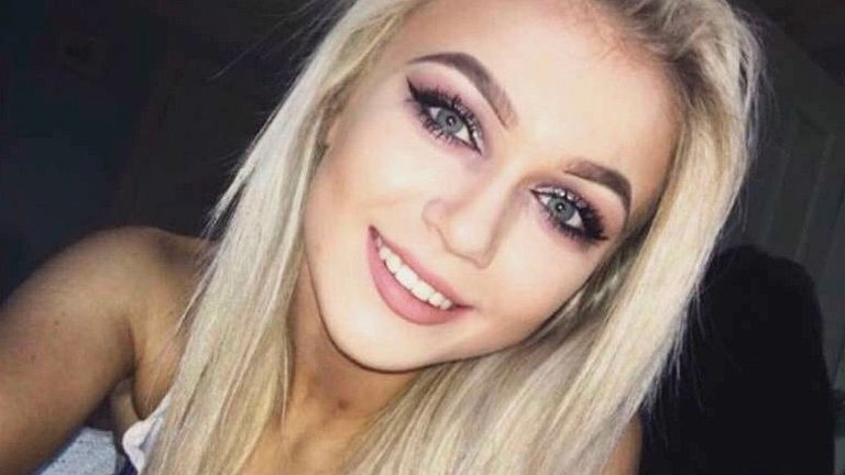 Tara Wright, 17, is believed to have been injured in a car crash