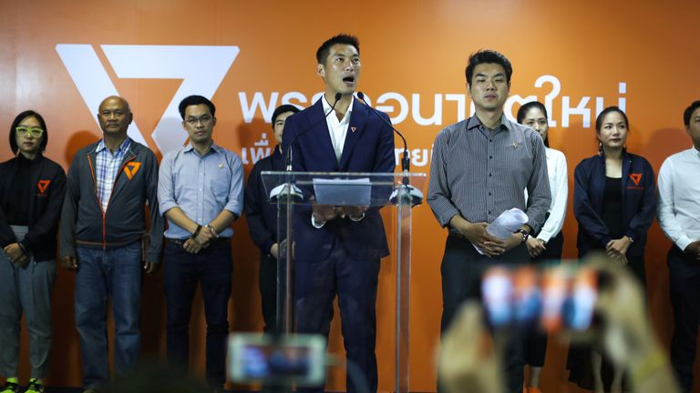 New party, Future Forward says it will bring a petition to the Election Commission on Tuesday demanding it makes all the voting data public.
