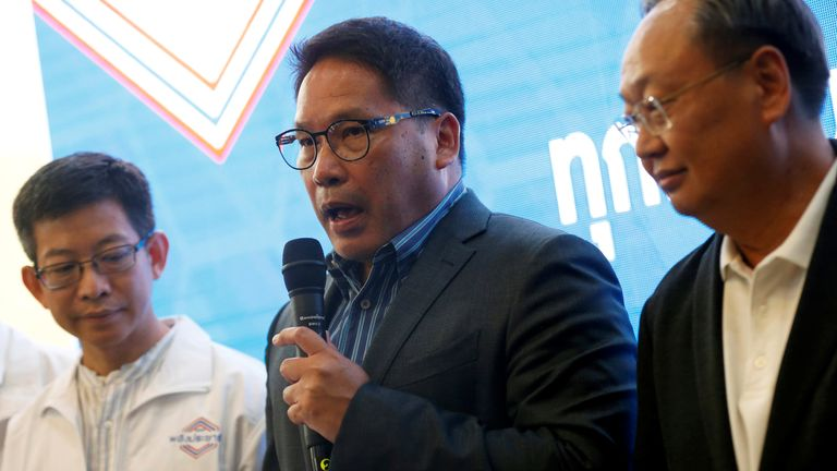The head of the Palang Pracharat party, that's backed by junta leader and prime minister Prayuth Chan-ocha, says it will contact like-minded parties to try to form a new government.