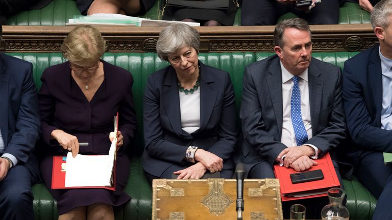 The PM was defied by her ministers