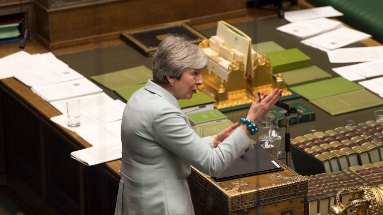Theresa May Pic: UK Parliament/Mark Duffy