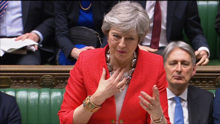 Theresa May loses Brexit vote