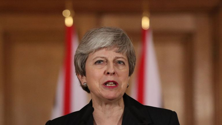 Theresa May said she will not seek to extend the deadline any further in the future