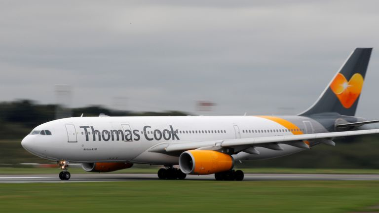 Thomas Cook flees. File pic
