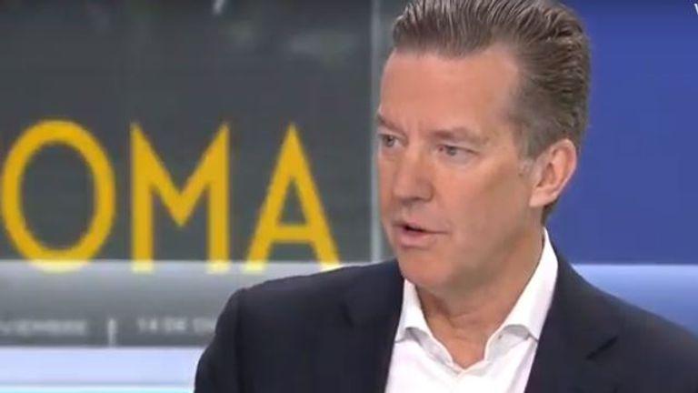 Vue cinemas founder and chief executive Tim Richards