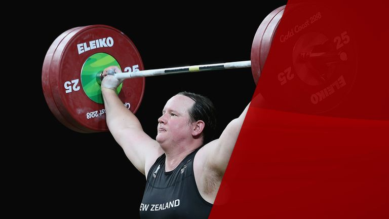 Laurel Hubbard still lifts 280kg despite 20 years between competing as a man and as a woman